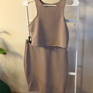 Taupe Two Piece Set